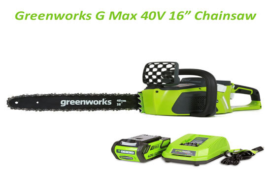 greenworks g max 40v 16 inch digipro brushless chainsaw