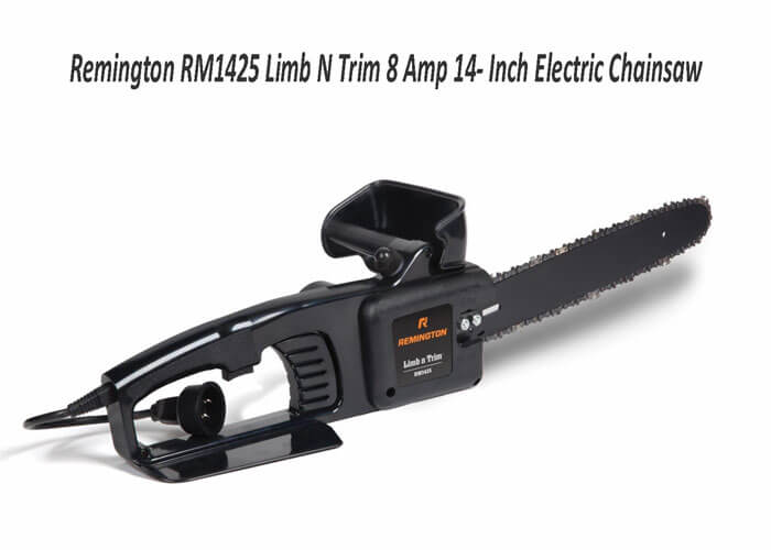 Remington RM1425 Limb N Trim 8Amp 14 Inch Electric Chainsaw