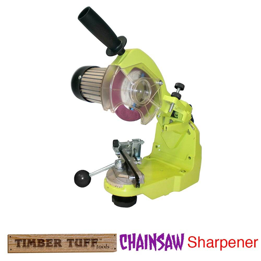 timber tuff cs-bwm benchtop electric chainsaw chain sharpener